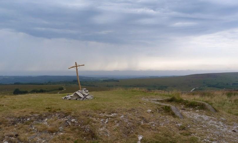 Monts arree croix celtique landes