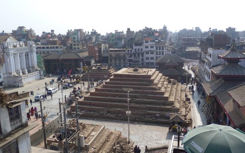 Nepal Katmandou Durbar Square