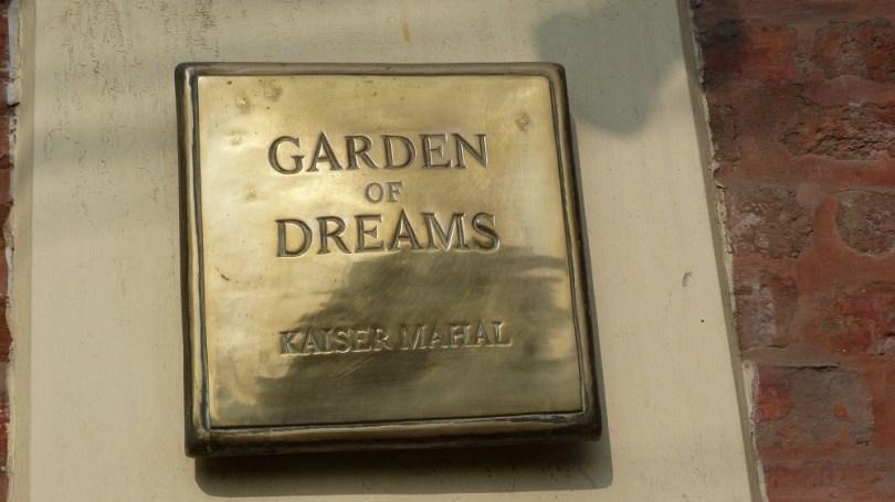 Nepal Katmandou garden f dreams jardin des reves kaiser mahal