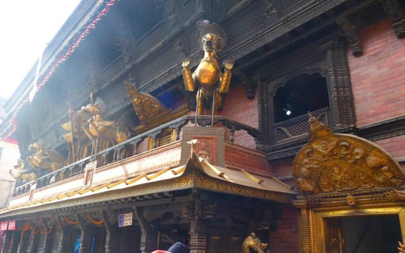 Temple Katmandou Nepal