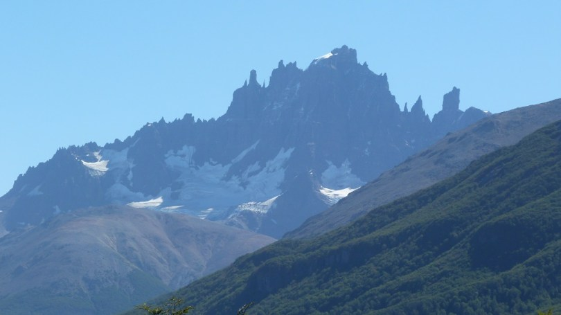 Cordillera Cerro Castillo Patagonie