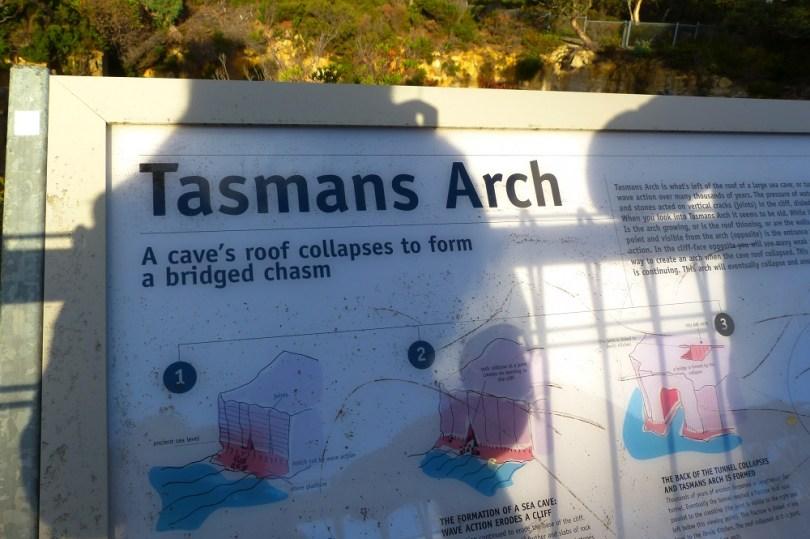 Tasmanie tasmans arch