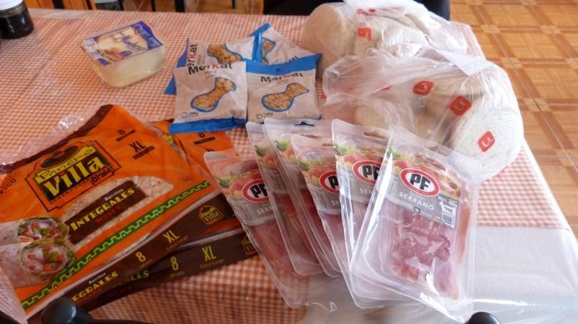 Torres del paine provisions nourriture