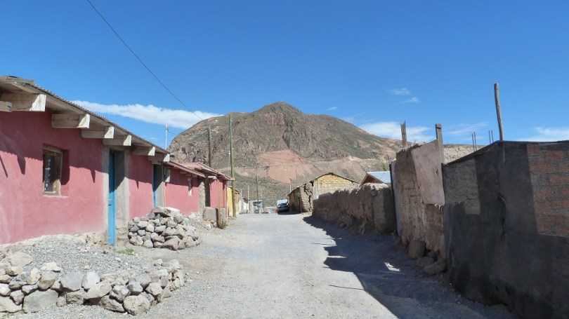 Putre village montagne