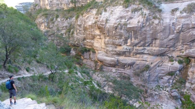 Canyon Torotoro sentier