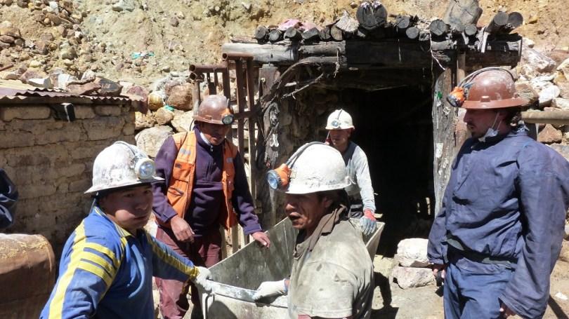 mines potosi mineurs