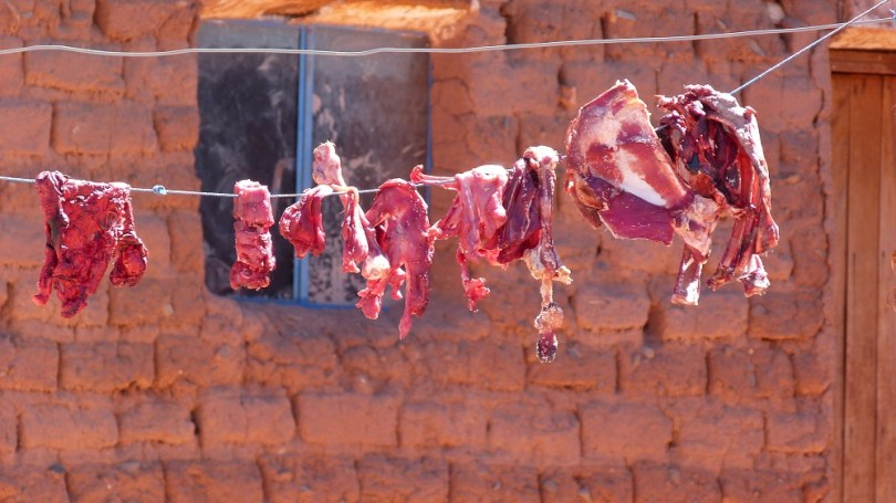 viande sechage bolivie
