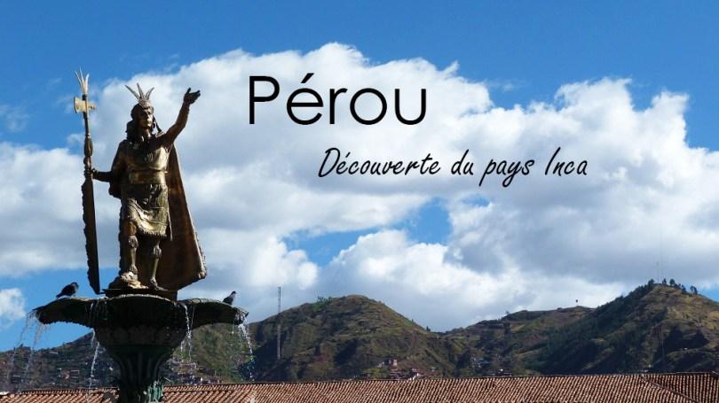 Perou cuzco et vallee sacree