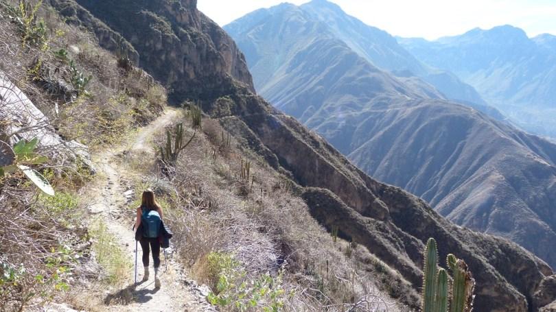 Cabanaconde canyon de colca