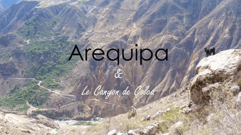 Canyon de Colca Arequipa