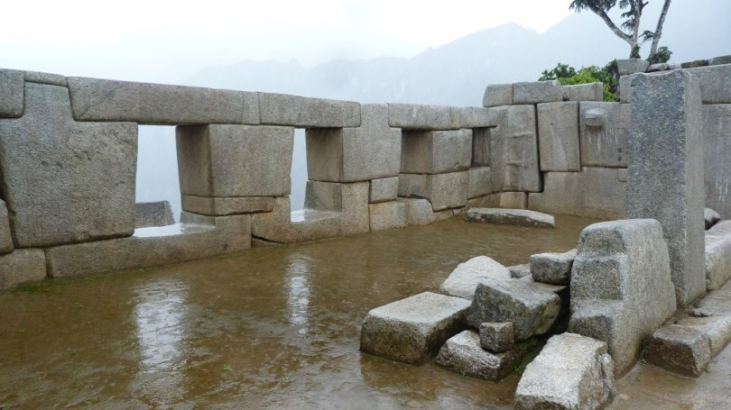 Machu Picchu temple trois fenetres