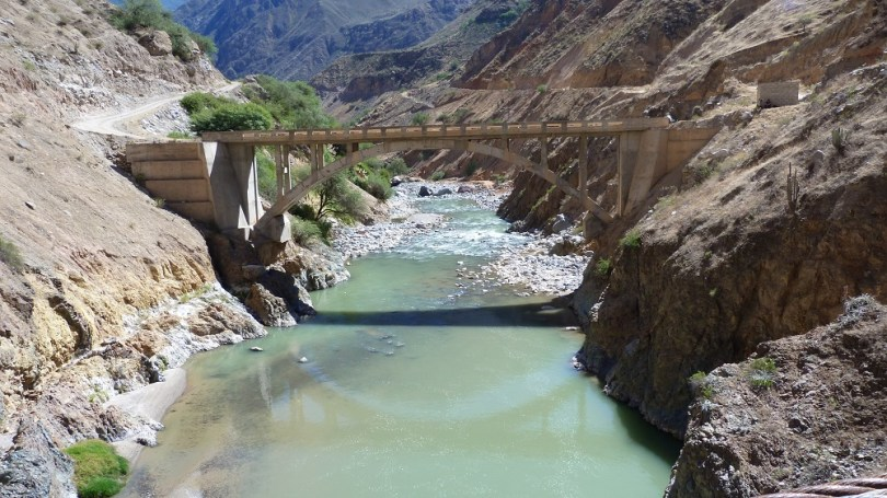 Pont riviere colca