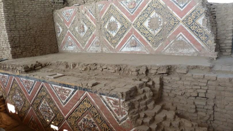 Huaca de la Luna Trujillo briques adobe