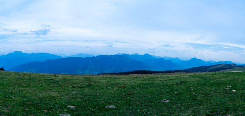 Annecy Mont Semnoz panorama