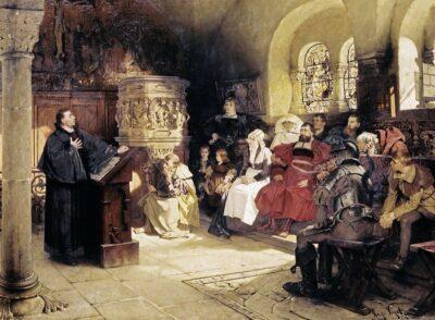 Puzzle: Predigt auf der Wartburg