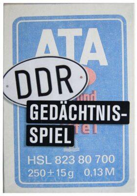 Pocket-Quiz: Das DDR Gedächtnisspiel Memo ATA