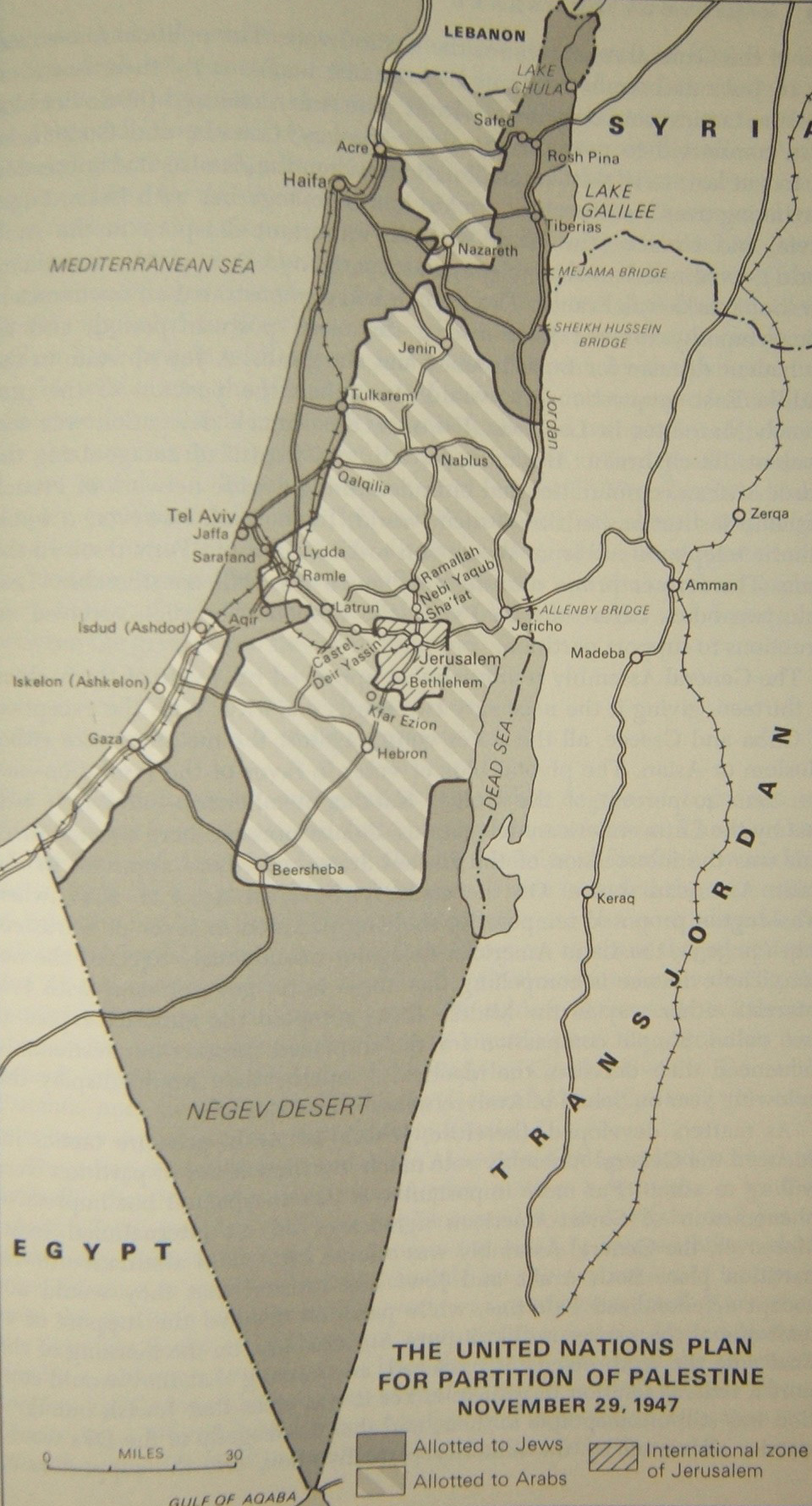 May 1948 14 Israel Map
