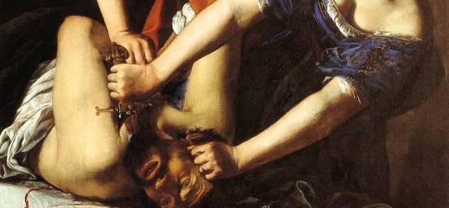 Judite e Holofernes, Artemísia Gentileschi
