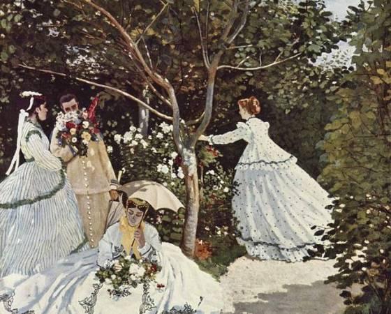 Mulheres no Jardim, Claude Monet