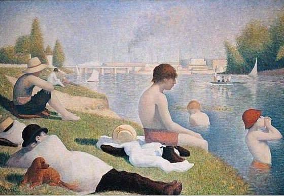 Cores e Pontos: com as obras de George Seurat