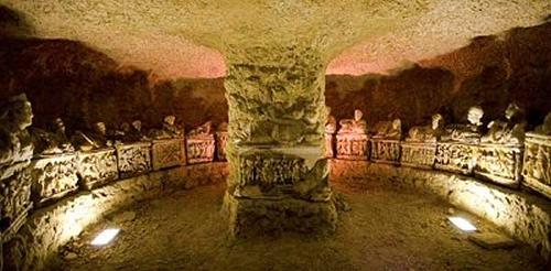Necrópole Etrusca - Museu Etrusco