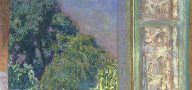 A Janela Aberta, Pierre Bonnard