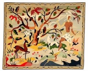Caçador descansando - Obra oferecida por Mauricio de Nassau ao Rei da França - hoje faz parte do acervo do Museu de Arte de São Paulo - Brasil