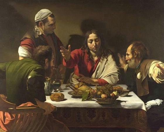 A Ceia de Emaús, Caravaggio