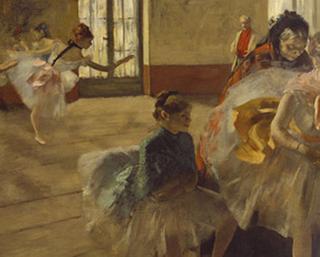 O Ensaio, Edgard Degas