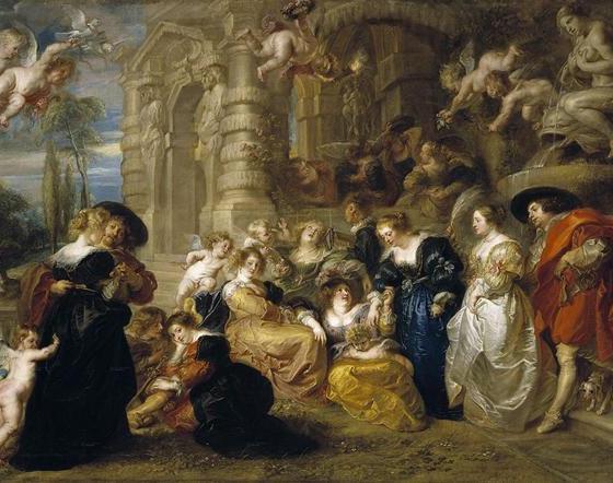 O Jardim do Amor, Rubens