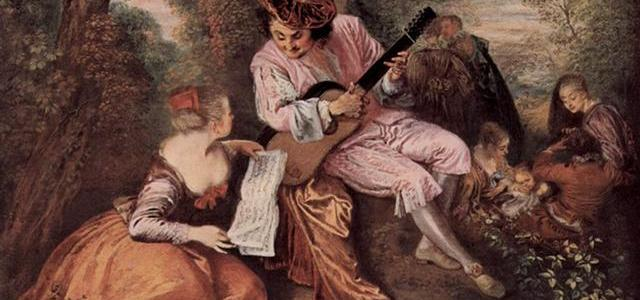 A Escala do Amor, Jean-Antoine Watteau