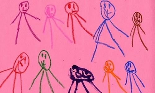 Desenho Infantil Pré Esquemático