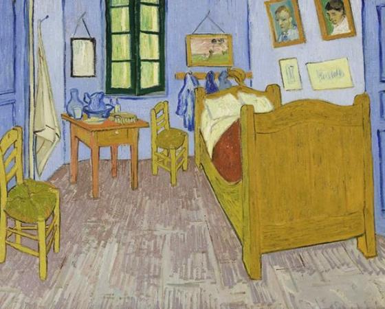 Quarto do Artista em Arles, Van Gogh