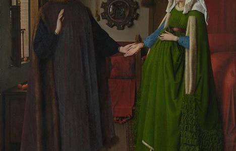 O Casal Arnolfini, Jan van Eyck