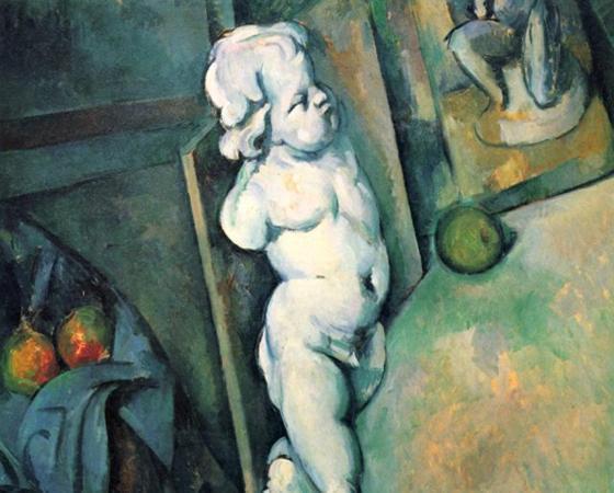 Natureza-Morta com Molde de Gesso, Paul Cézanne