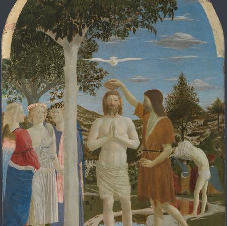 O Batismo de Cristo, Piero della Francesca