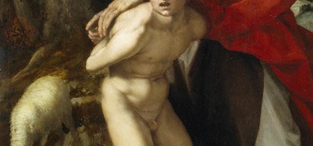 O Sacrifício de Isaac, Andrea del Sarto