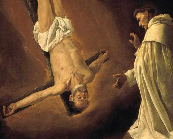 Aparição do Apóstolo São Pedro a São Pedro Nolasco, Francisco de Zurbarán