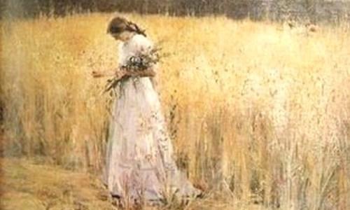 Moça no Trigal, Eliseu Visconti
