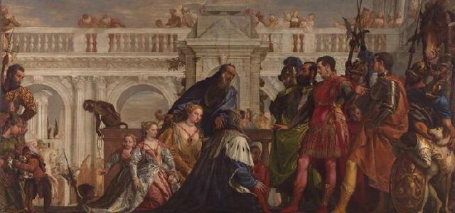 A Família de Dario diante de Alexandre, Paolo Veronese