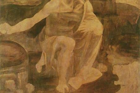 São Jerônimo no Deserto, Leonardo da Vinci
