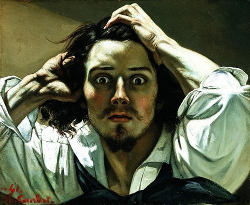 Desespero ou Autorretrato, Gustave Courbet