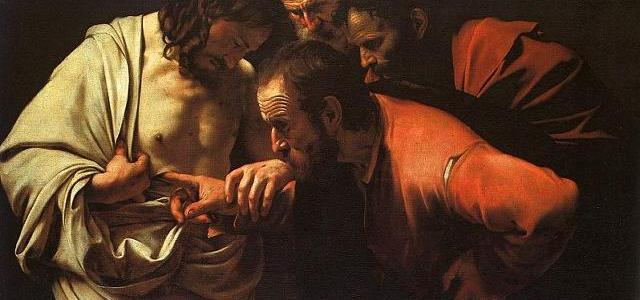A Dúvida de Tomé, Caravaggio