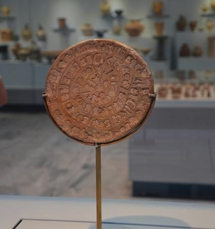 Disco de Festo, Museu Arqueológico de Heraklion
