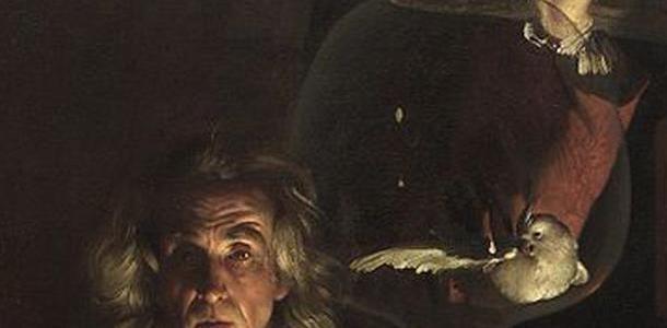 Experiência com um Pássaro em uma Bomba de Ar, Joseph Wright