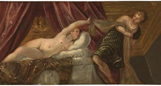 José e a Mulher de Putifar, Tintoreto