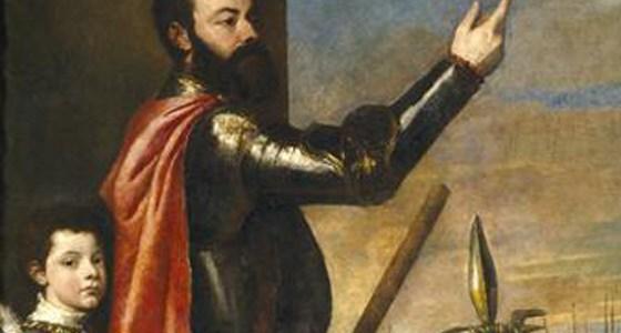 A Alocução do Marquês de Vasto aos Seus Soldados, Ticiano Vecellio