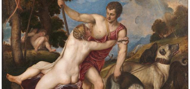 Vênus e Adônis, Ticiano Vecellio