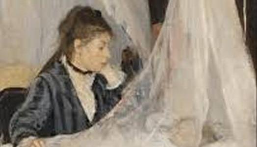 O Berço, Berthe Morisot