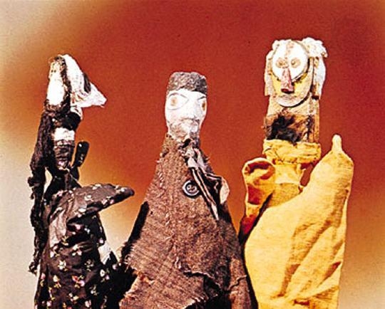 Faça um fantoche ao estilo de Paul Klee
